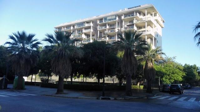 La zona moderna del barrio de Campanar de la ciudad de Valencia, antigua pedanía.