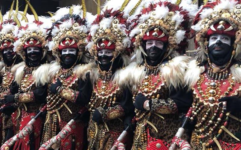 Las fiestas de Moros y Cristianos de la Comunidad Valenciana son de las más importantes de España.