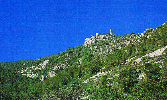 Castillo en la Sierra de Irta, Castellón