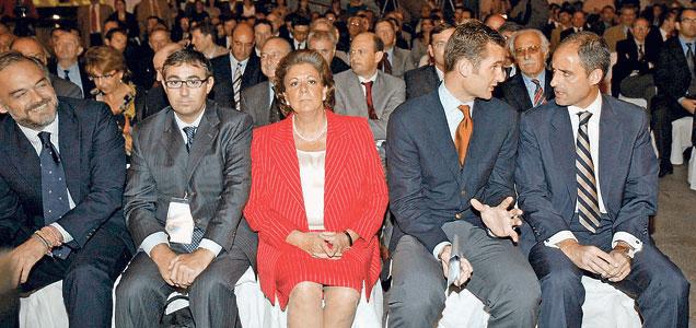 Camps,Urgandarín, Rita Barberá y el Torres...menudo grupo.