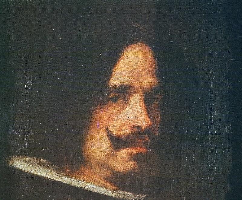 Diego Velázquez-Autorretrato en el Museo San Pio V de Valencia.