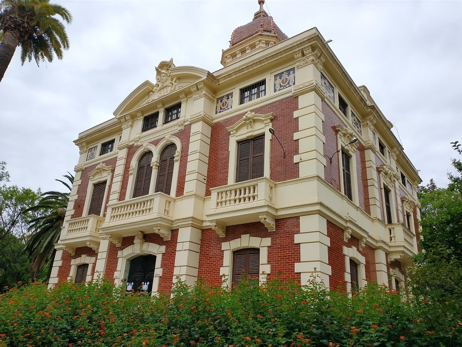 Palacete Modernista del 1900 de Monforte en Valencia.