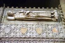 Tunba del rey Jaime I en poblet (Catalunya)