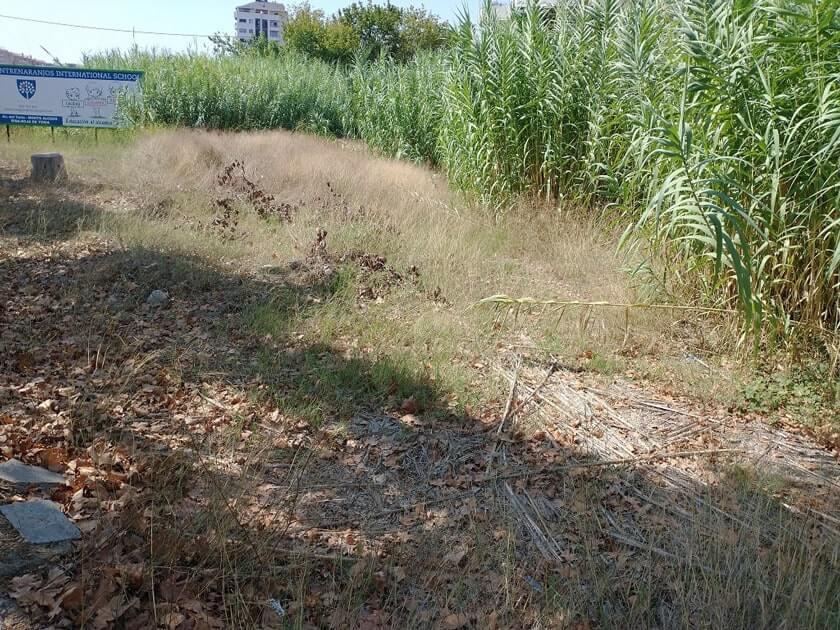 La Ronda Norte o carretera de circunvalación CV-30 de València bordea el barrio de Benimaclet, se puede ver  terrenos abandonados llenos de porquería y peligroso para la salud.