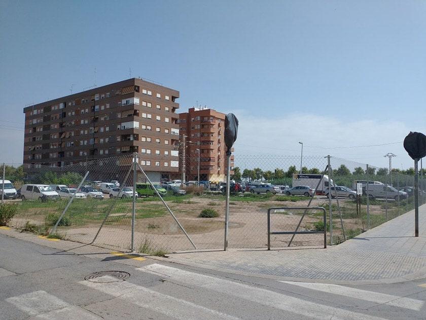 La guerra del PAI y  la de   las vallas en Benimaclet, València. Contra la  Empresa Metrovacesa.