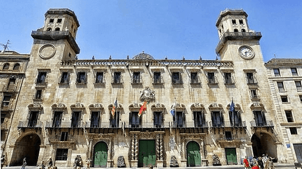 Ayuntamiento de Alicante,Comunidad Valenciana.