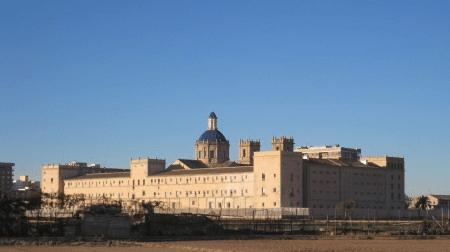 Antiguo Monasterio Jerónimo, Biblioteca Nacional Valenciana y sede de La Academia Valenciana de la Lengua, San Miguel de los Reyes en València (Comunidad Valenciana).