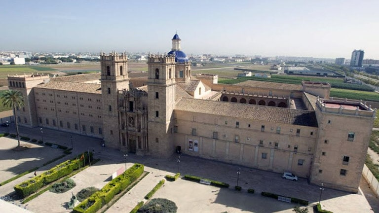 Monasterio San Miquel de los Reyes y biblioteca  Nacional en Valencia