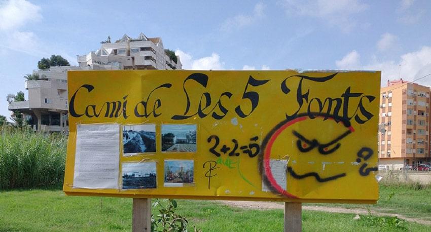 Imágenes de Benimaclet de hace  50 o 60 años, donde ya no existe la Alquería del Marro.