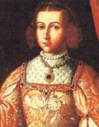 """Doña Germana de Foix (1488-1536) enterrada en Sant Miquel dels Reis""""."""