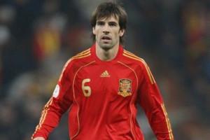 David Albelda Aliques  entró por la puerta grande a la selección española.