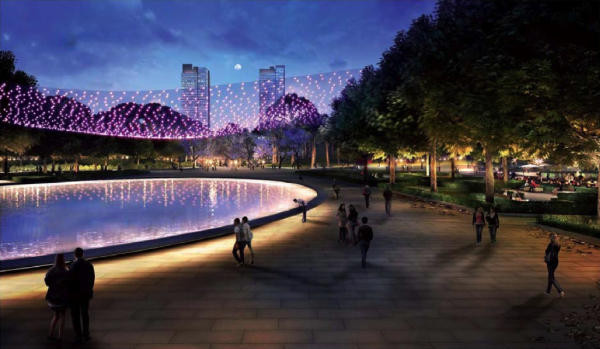 Imágen del que será el  Parque central de València para el año 2019 (España)