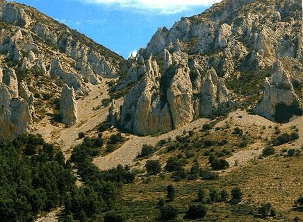 El Canal d'Alcoy: Els Frares,La Serrella, Cuatretondeta.