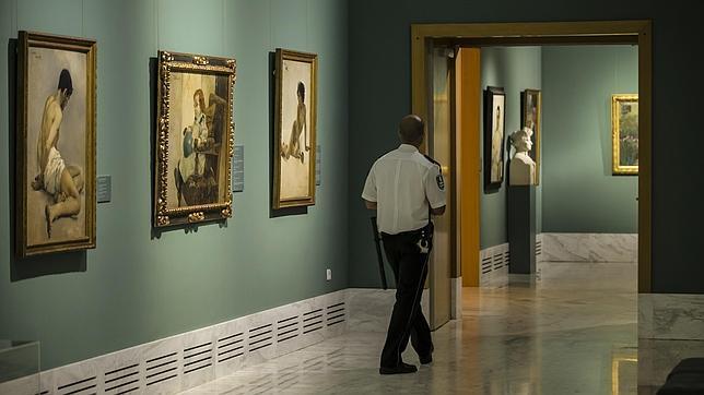 Una de las sala del Museo san Pio V Valencia