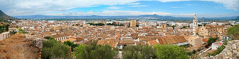 Ciudad de de Xàtiva en la Comunidad Valenciana (España).