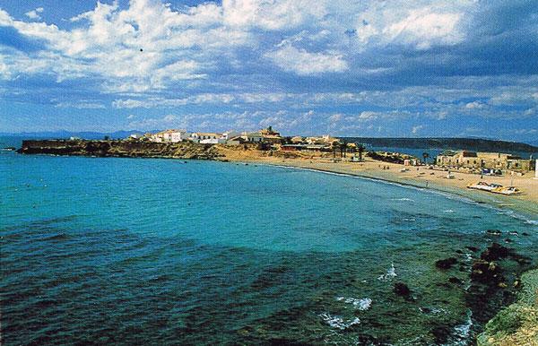 Playa isla de Tabarca (Santa Pola-Alicante)