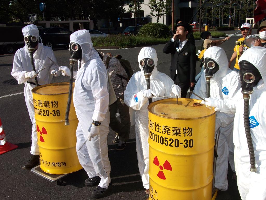 Japanische Regierung will Atommüll ins Ausland  verschicken