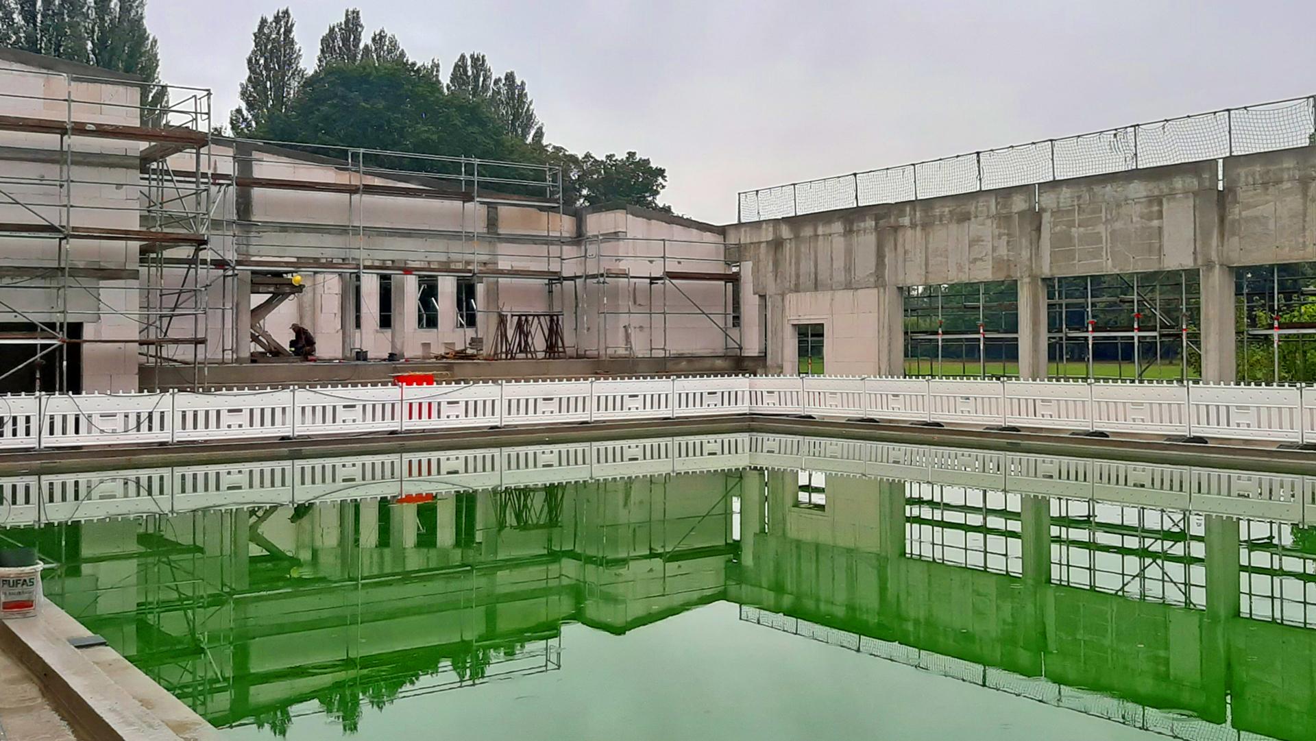Sportbad Dieburg Wassertest