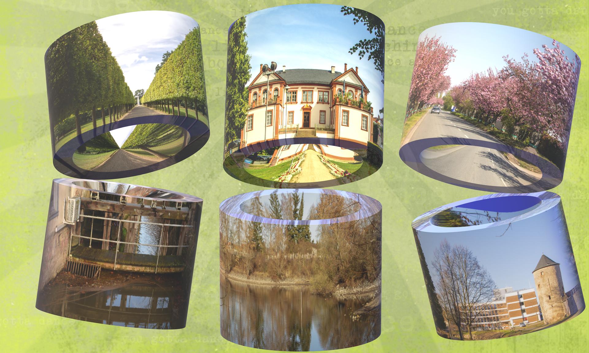 Collage Dieburg Röhre