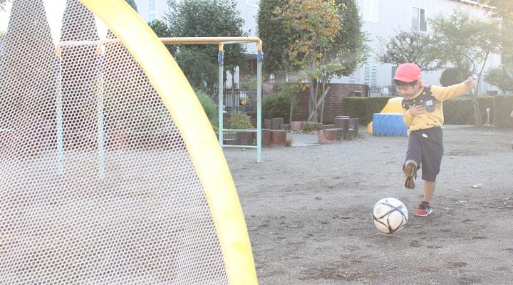 サッカーあそび