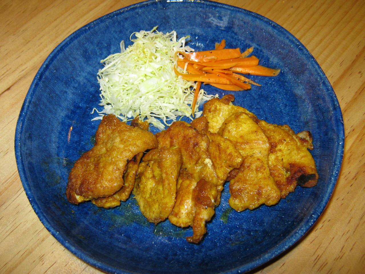鶏ムネカレー風味焼き やわらかいんです