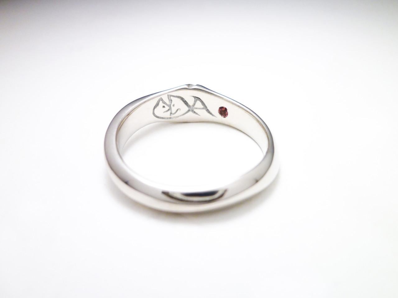 プラチナマリッジリング Platinum marriage ring