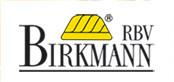 Die Grafik zeigt das Logo der Fa.  Birkmann RBV mit einer gelben Gugelhupfform
