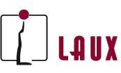 Die Grafik zeigt das Logo der Fa. Laux Feinkost