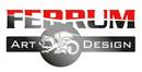 Logo der Fa. Ferrum-Art - Metallskulpturen und mehr ...