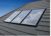 Dimplex Solar Thermal roof panels