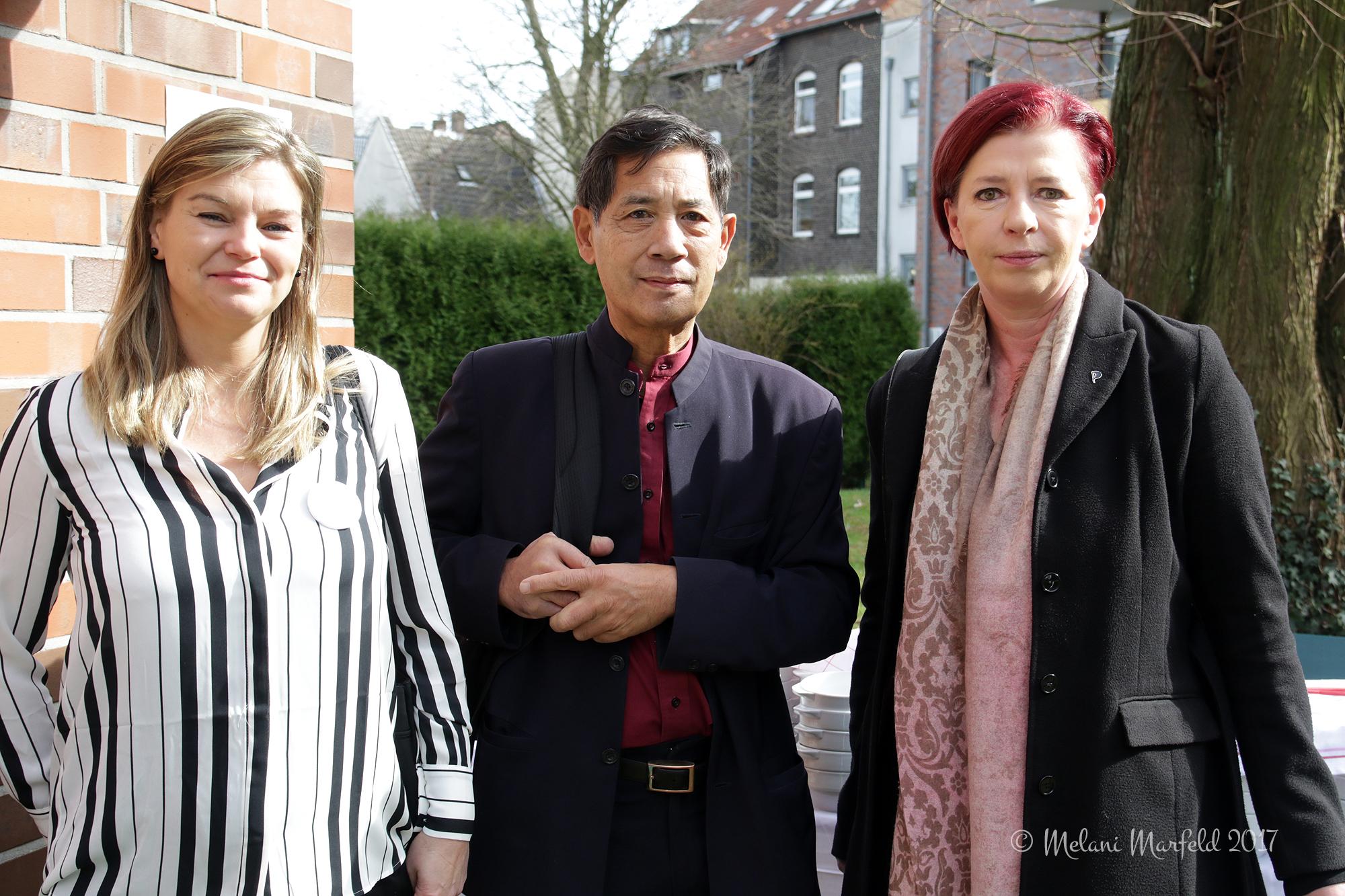Prof. Dr. Reiss, Prof. Dr. Bhakdi, Simone Brand, MdL