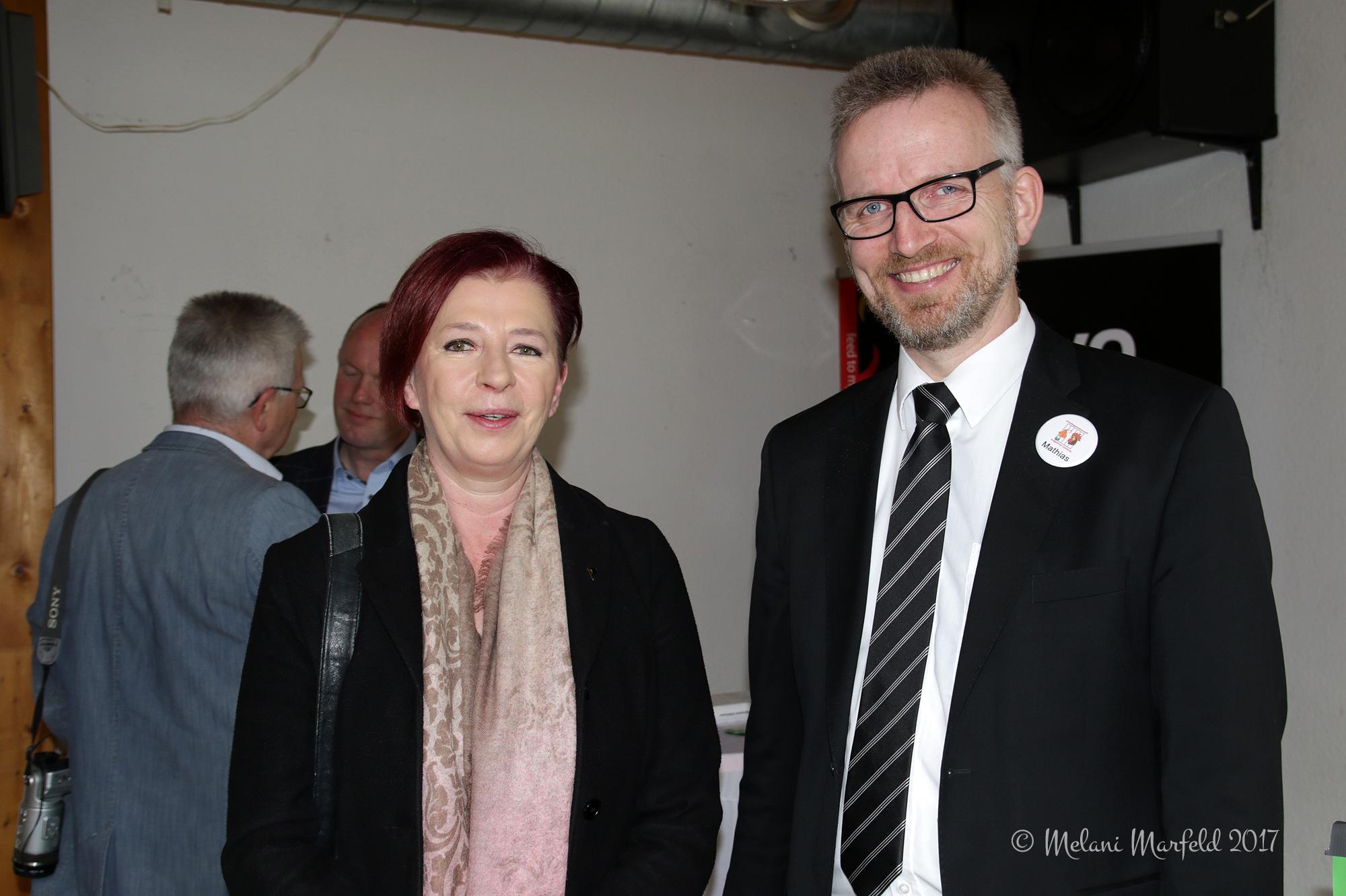 Simone Brand, MdL, Mathias Güthe