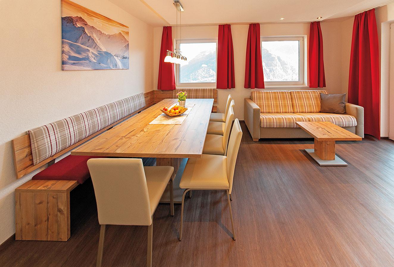 relax-ladis · Apart Josef · Ferienwohnung Bergblick Küche