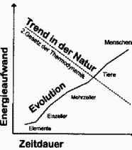 Evolution unmöglich, 2. Hauptsatz der Thermodynamik