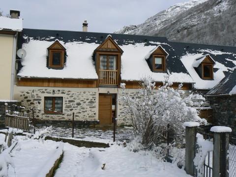 La maison - hiver