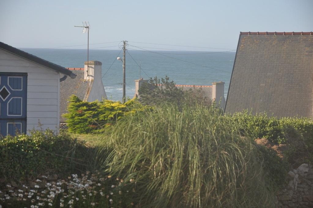 Blick  vom Küchenfenster zum Atlantik