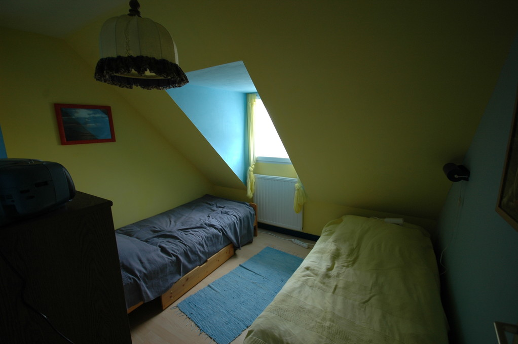 Schlafzimmer oben (2 Einzelbetten)
