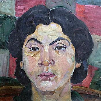 Portrait Immeke Mitscherlich, geb. Schwollmann, 1919