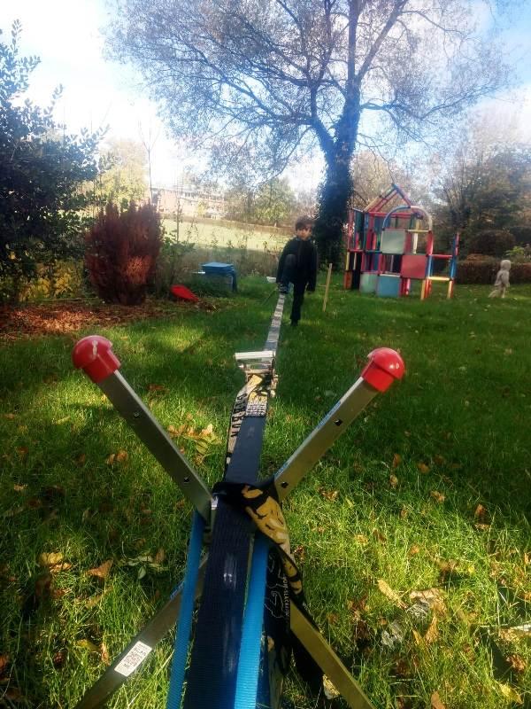 Bewertung 2018-10-27: Hallo liebes No-Tree Team, ich war sehr lange auf der Suche nach einer geeigneten Slackline Befestigung für meinen Garten & Unterwegs.In eurem System bin ich fündig geworden! Danke Mit meiner Bewertung habe ich mir jetzt ca. 5 Mon...