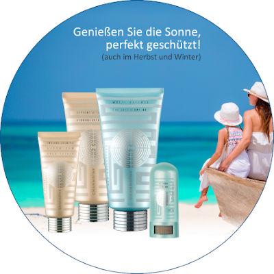 Sun Collection bietet Sonnenschutz für Gesicht und Körper mit Anti-Aging-Pflege