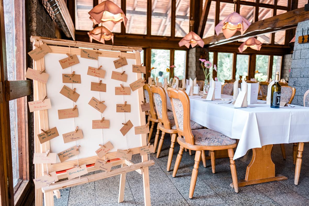 Hochzeit feiern im Wildpark in der Wildparkgaststätte - Außergewöhnliche Hochzeitslocation in Leipzig in der Natur