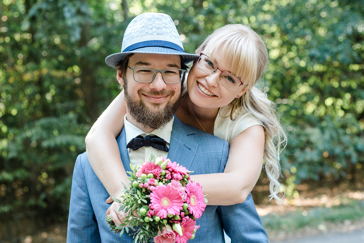 Hochzeit feiern und Hochzeitsfotos im Wildpark in Leipzig - Außergewöhnliche Hochzeitslocation in Leipzig