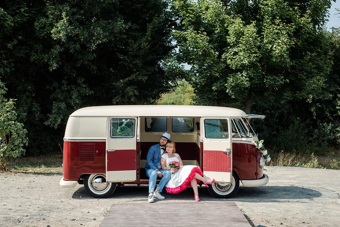 Heiraten in Leipzig und Markkleeberg am Cospudener See und Hochzeitsfotos im Wildpark