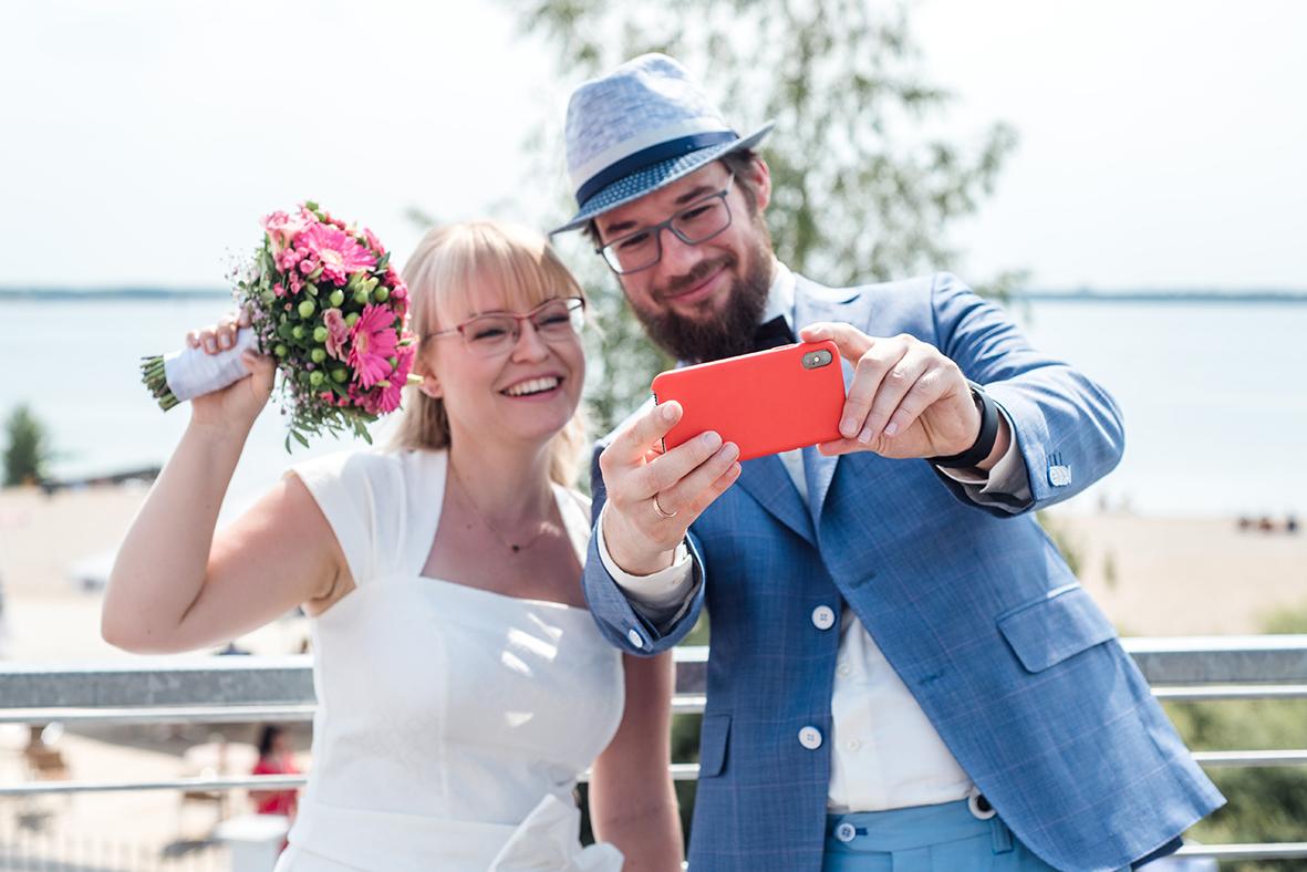 Hochzeit in Leipzig und Markkleeberg am Cospudener See in der Hacienda Cospuden - Hochzeitsfotos in Leipzig
