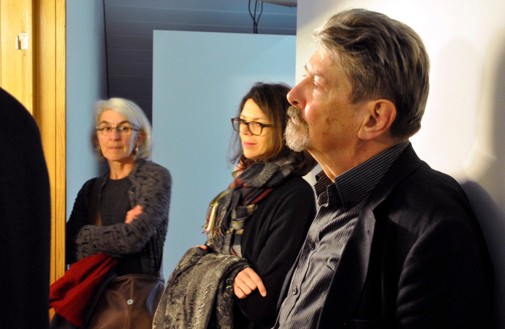 """Vernissage von """"Tauchen 4"""" von Christine Camenisch / Johannes Vetsch"""
