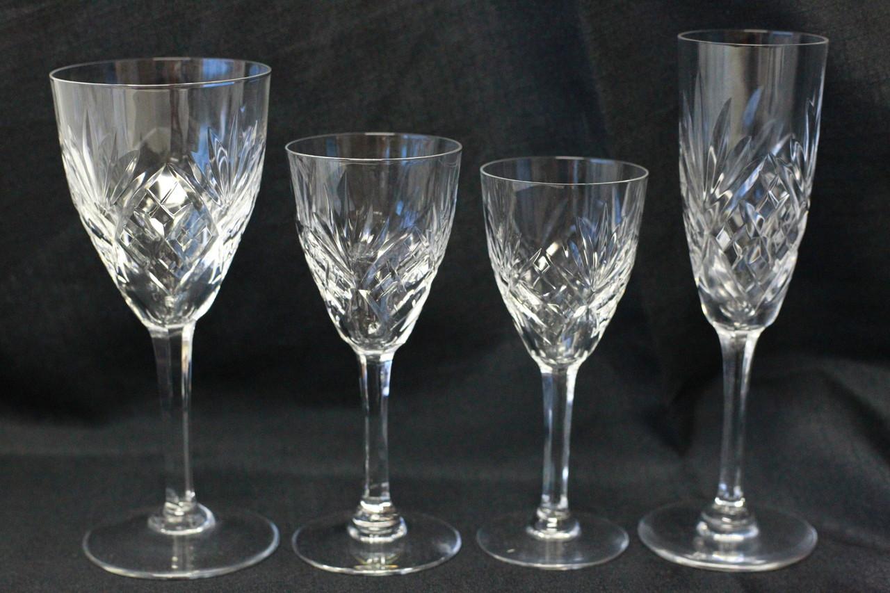 Cristal baccarat saint louis antiquit s edelweiss - Verre saint louis prix ...