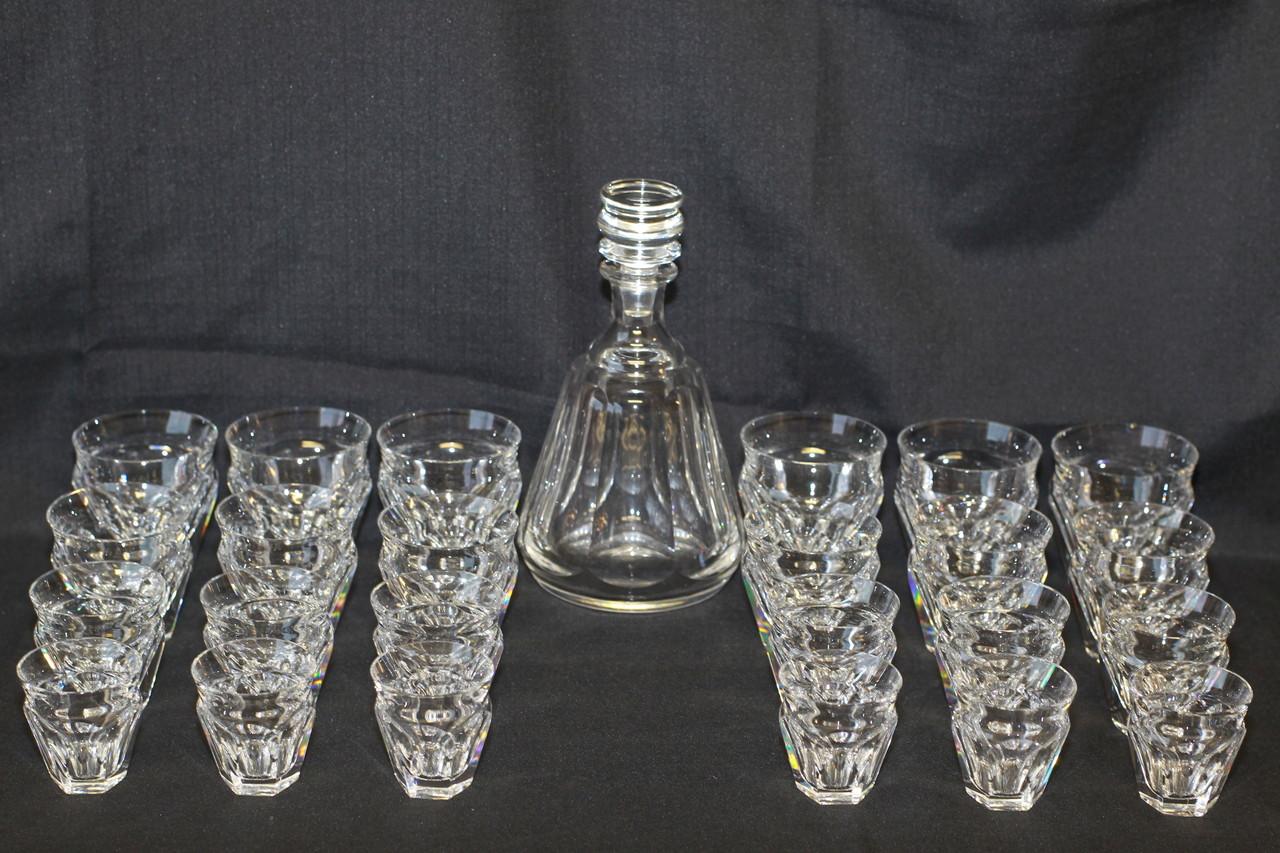 Cristal baccarat saint louis antiquit s edelweiss - Service harcourt baccarat ...
