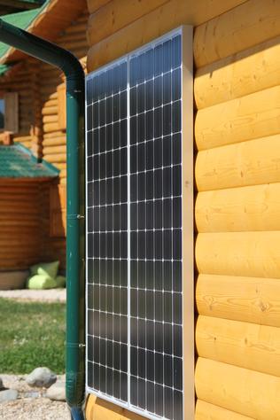 PV - Solaranlage in Heilsbronn