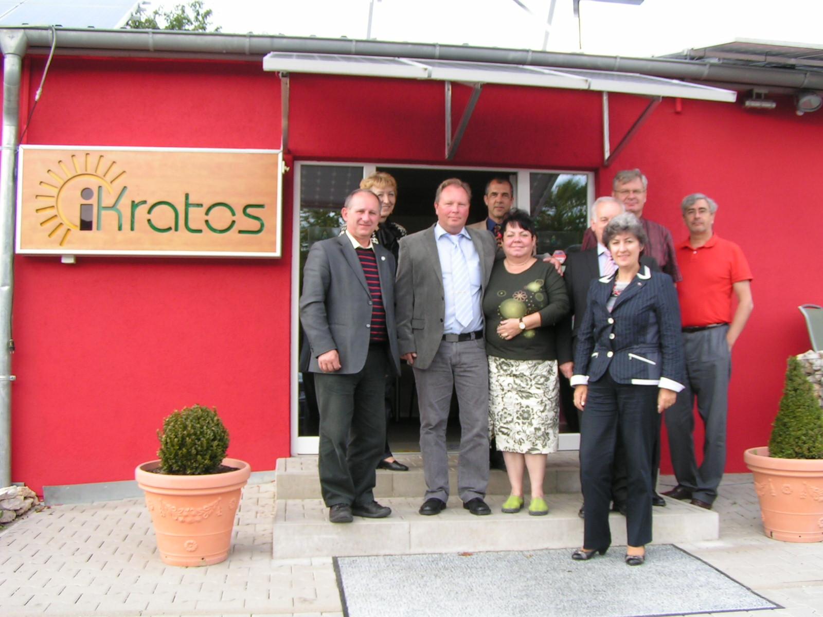 Auslandsgruppe bei iKratos