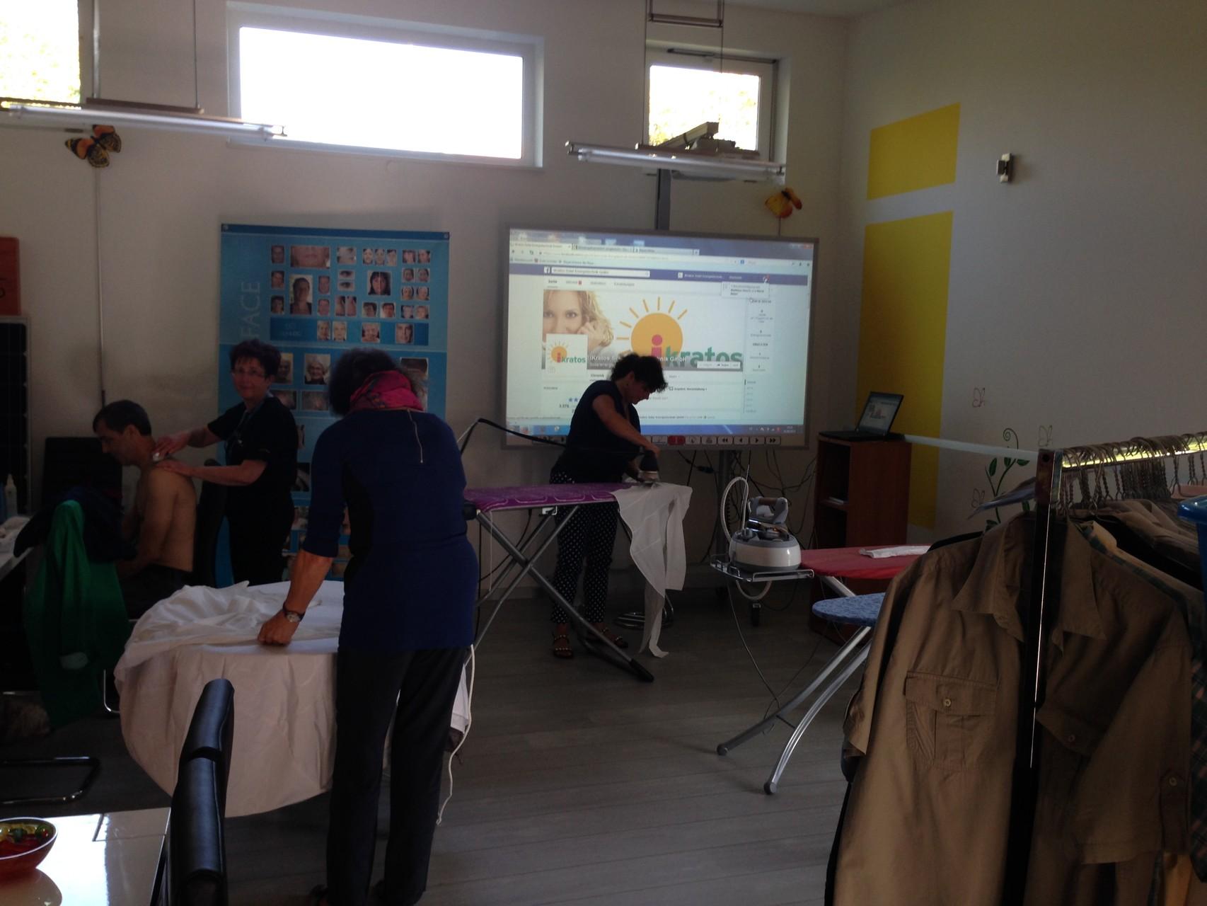 Solarbügel Aktion für Kindergarten Weissenohe